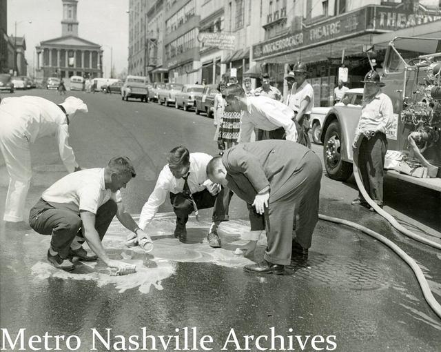 1955 photo and copy credit Metro Nashville Archives. Nashville Public Library.
