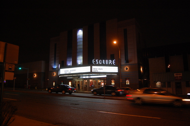 Esquire at night 3
