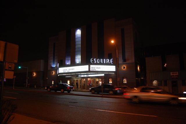 Esquire at night 3
