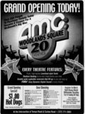 AMC Woodlands Square 20 Grand Opening ad