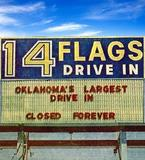 14 Flags Drive-In  9901 S. Western Avenue, Oklahoma City, OK.