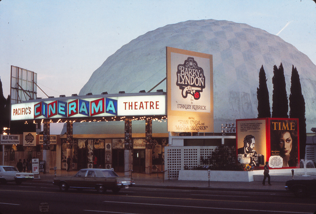 Barry Lyndon opens at the Cinerama Dome, 1975