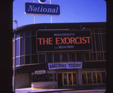 "National Theatre, ""The Exorcist"", June 1974"