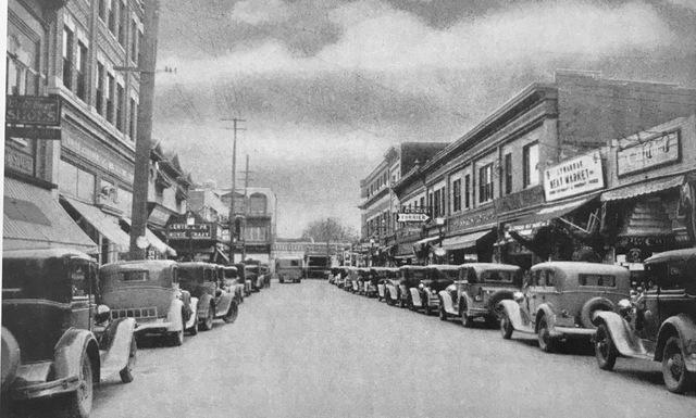 Arcade circa 1932