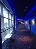 Corridor to screens