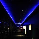 Corridor at night