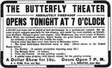 Butterfly Theatre Opening Night