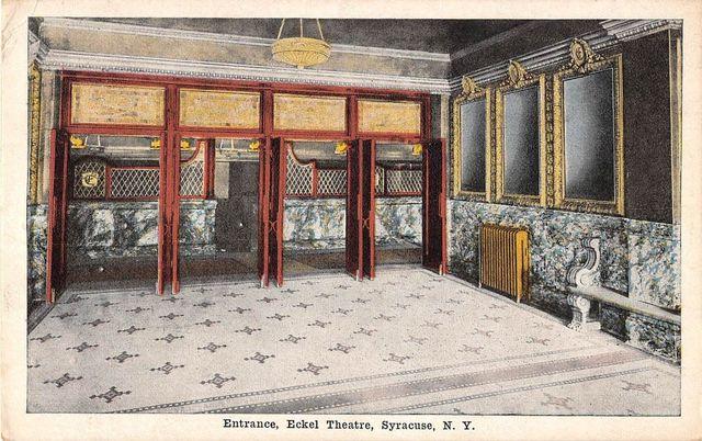 Eckel Theatre Syracuse NY Entrance