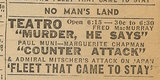 Newspaper ad from Aug. 15, 1945 Chicago Herald-American showing what was playing at the Teatro Theatre