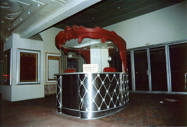 California Theatre Box Office (around 1990)