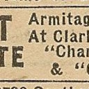 Newspaper ad from Aug. 15, 1945 Chicago Herald-American showing what was playing at the Lane Court Theatre