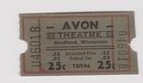 AVON Theatre; Medford, Wisconsin.