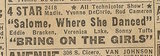 Newspaper ad from Aug. 15, 1945 Chicago Herald-American showing what was playing at the 4 Star Playhouse