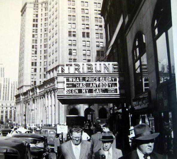 Tribune Theatre exterior