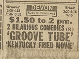Newspaper ad from Oct. 6, 1979 Chicago Sun-Times showing what was playing at the Devon Theater