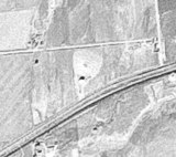 1956 USGS aerial photo from the Earth Explorer.