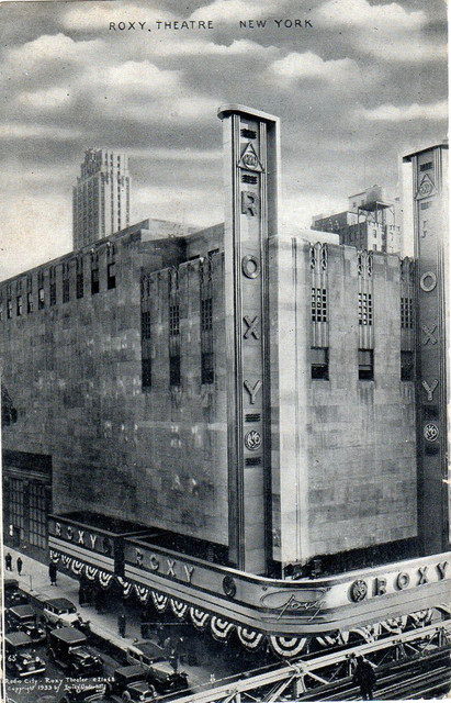 RKO Roxy Theatre exterior