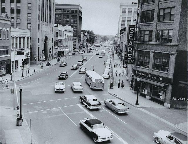 Circa 1956 photo courtesy of Larry Kelly.
