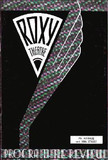 Roxy Theatre program cover