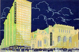 Roxy Theatre postcard