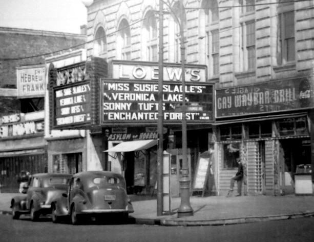 Loew's Coney Island Theatre exterior