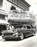 """Hot Rod Gang"" World Premiere, August 1958 photo via John Stutzer."