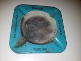 Well used Rivoli bar ashtray
