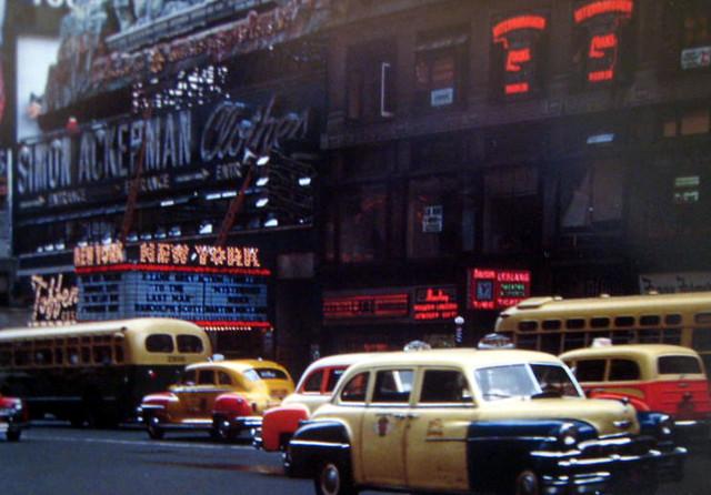 New York Theatre exterior