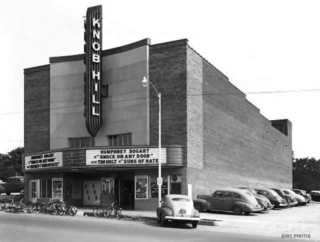 Knob Hill Theater, 404 W. Commerce Street, Oklahoma City...1949.