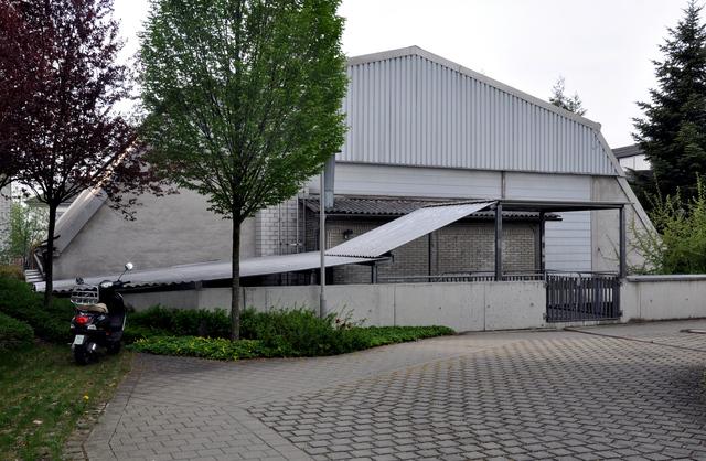 Kinozentrum am Frauentor Ravensburg, rear view