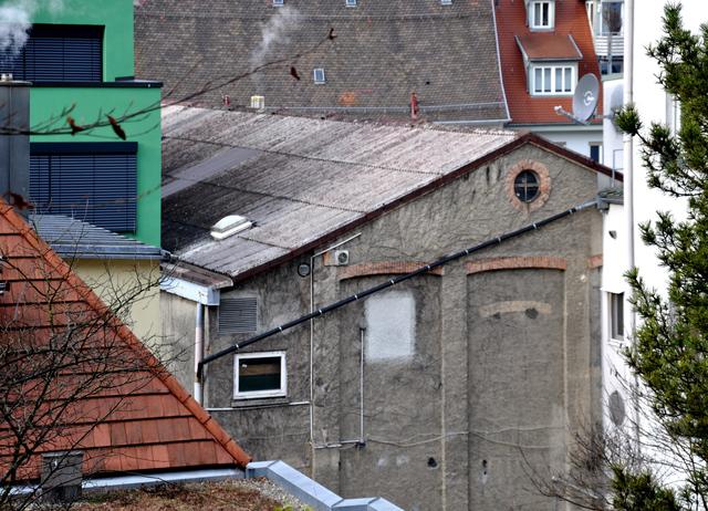 Die Burg Ravensburg rear view