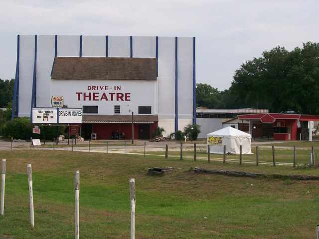 Ocala Drive-in Main Entrance