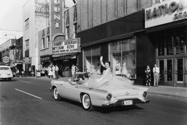 1957 photo courtesy of Ralph Mitchell.