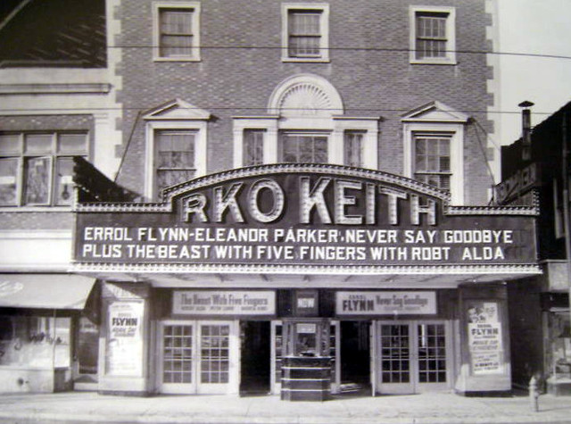 RKO Kenmore Theatre exterior