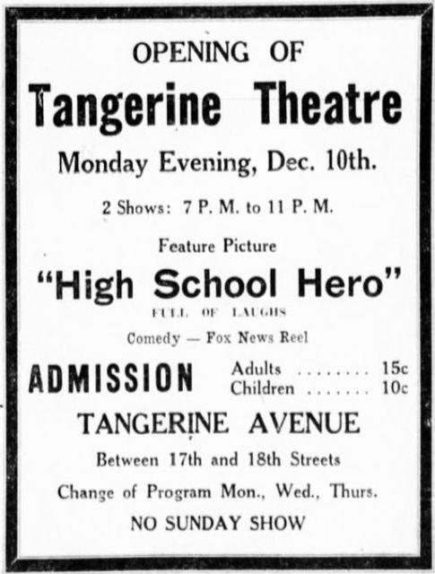 Tangerine Theatre