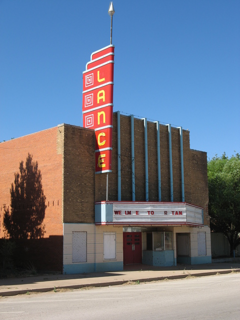 Lance Theatre, Rotan, TX, May 2011
