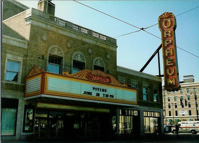 Orpheum Theater Memphis - 1996