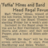 Newspaper article from the Chicago Herald-American Aug. 15, 1945 about what was playing at the Regal Theater