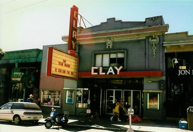 Clay Theatre  San Francisco, CA  March 1996
