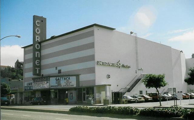 Coronet Theatre  San Francisco, CA  October 1997
