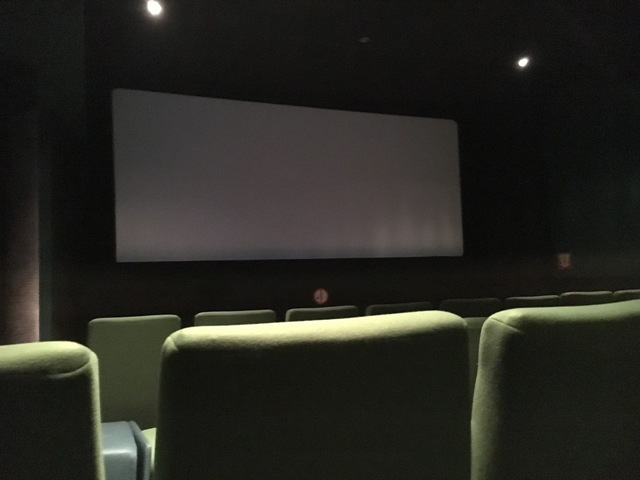 Screen #3, aka Green auditorium