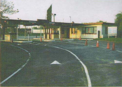 The entrance in 1994
