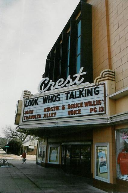 Crest Theater  Wichita, KS 1989