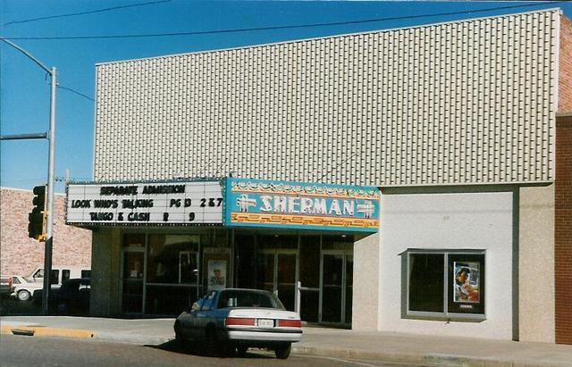 Sherman Theater  Goodland, KS  1989