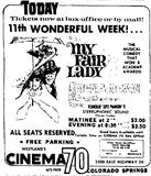 Cinema 70 ad