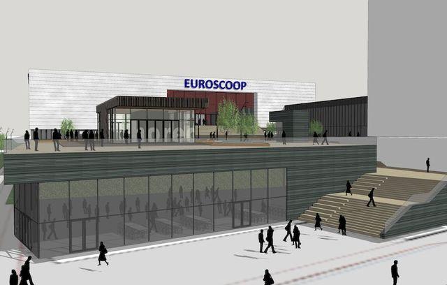 Euroscoop Schiedam Pieters Bouwtechniek artis impression