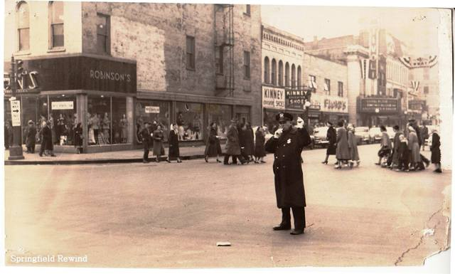 Circa October 1950 photo credit Springfield Rewind Facebook page.