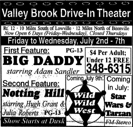 Valley Brook Drive-In
