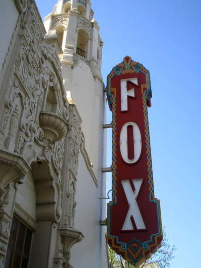Stockton Fox (Bob Hope) blade sign