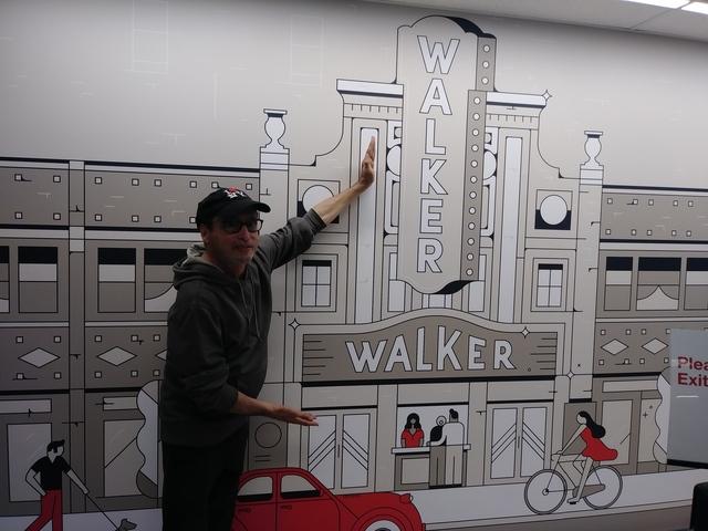 Orlando Lopes in the former Walker